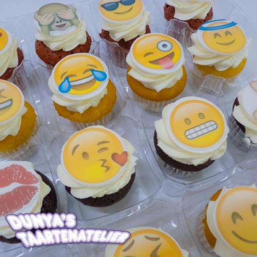 Kleine Cupcakes - Smiley