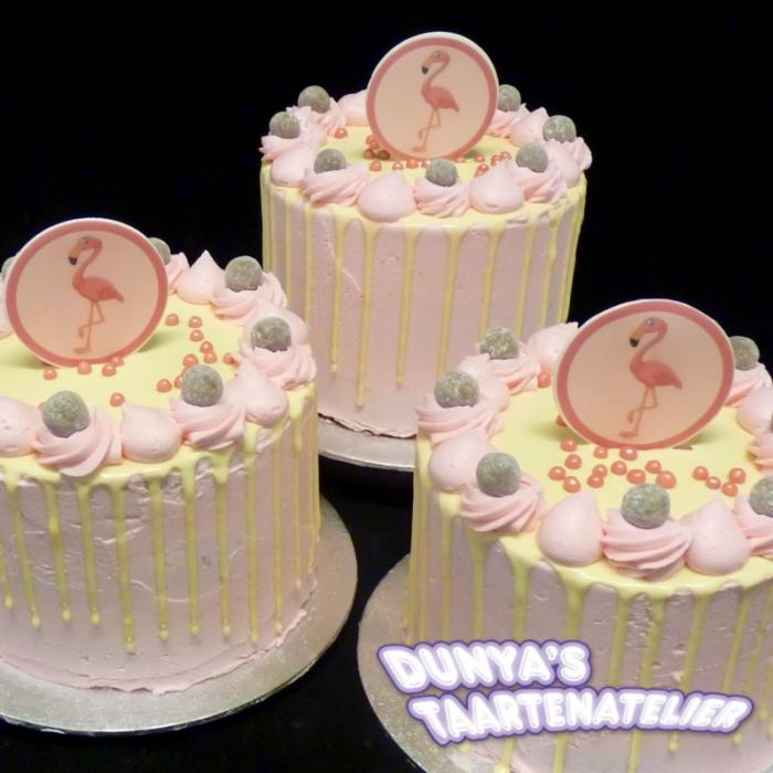 Drip CakesPink Flamingo (S)