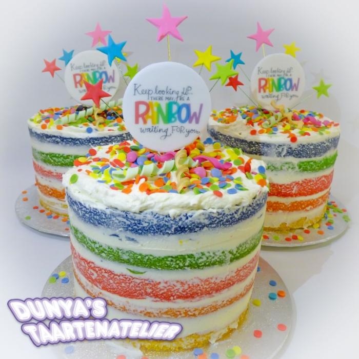 Rainbow CakesRainbow Cake (S)