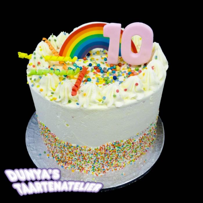 Rainbow CakesRainbow Party Cake (L)