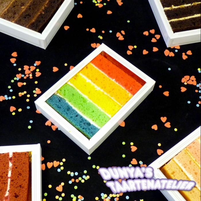 Rainbow CakesRainbow Slice