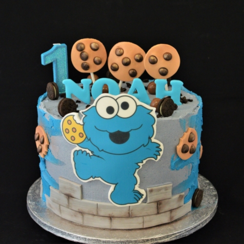 XL - FROSTED COOKIEMONSTER