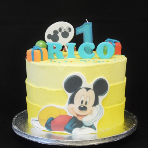 XL - FROSTED MICKEY MOUSE