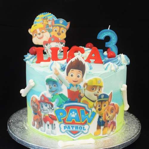 XL - FROSTED PAW PATROL
