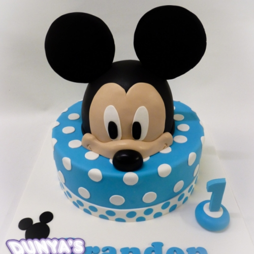 Mickey - stapeltaart