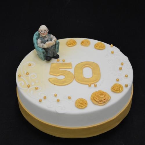 Abraham - 50 jaar zittend