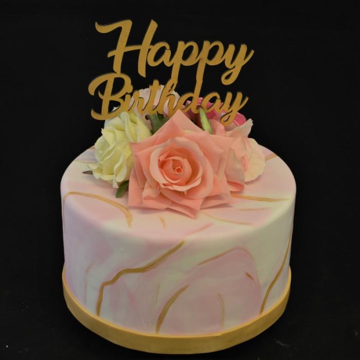 Specials voor vrouwenMarble pink - gold
