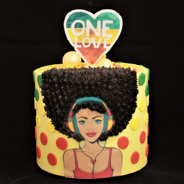Specials voor vrouwenPop Art - One Love - XL