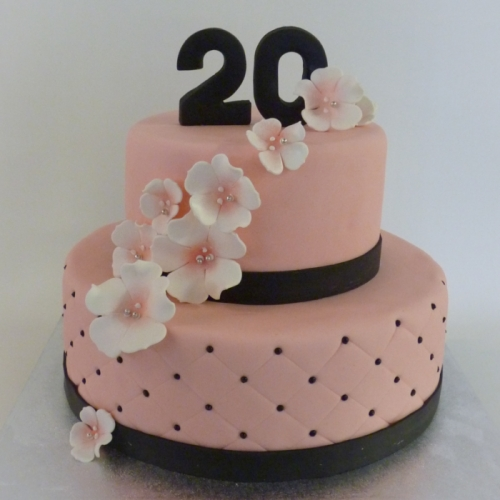BLOSSOM - stapeltaart (roze)