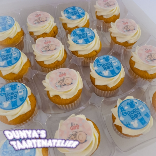 Grote Cupcakes - Baby