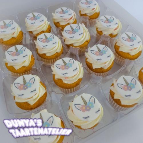 Grote Cupcakes - Unicorn