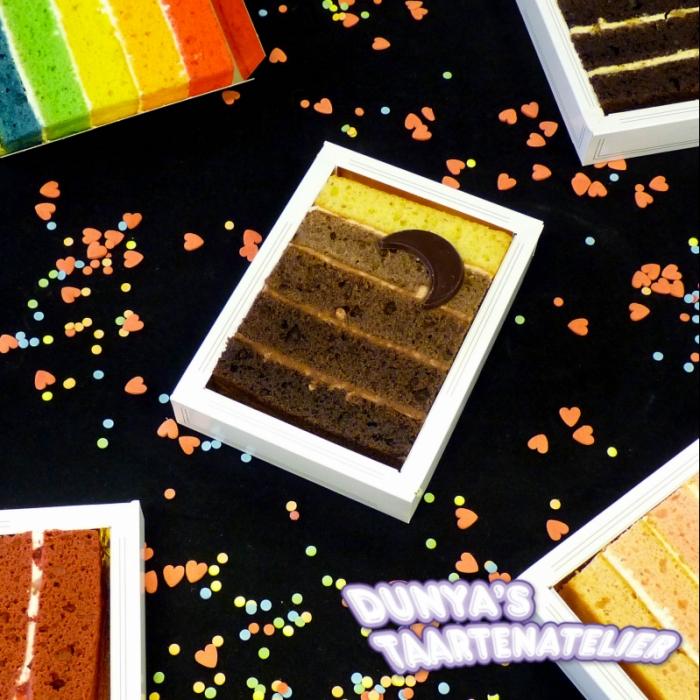 Cake SliceChocolate Ombre