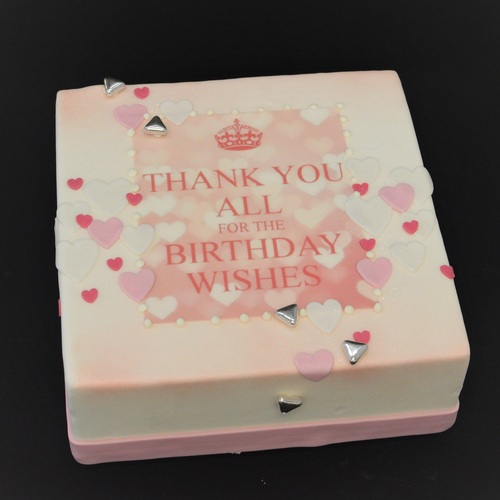 Thank You for the Birthday Wishes - roze