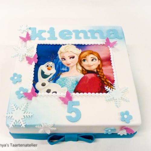 Frozen Elsa, Anna en Olaf