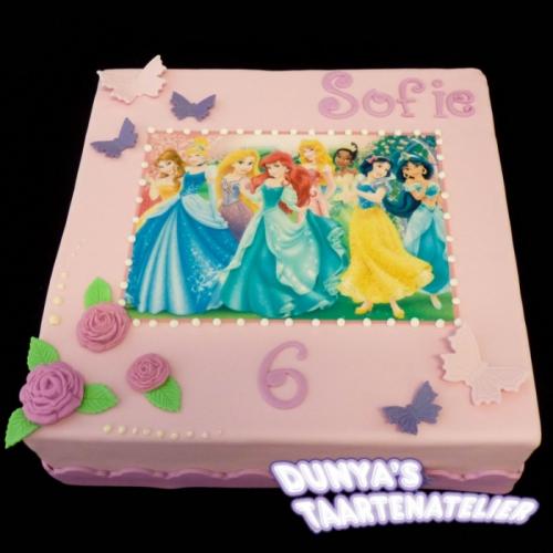 Disney Prinsessen - met vlinders
