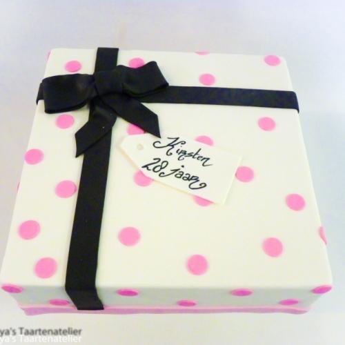 Cadeau - roze/zwart