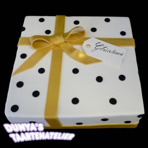 Cadeau - goud/zwart