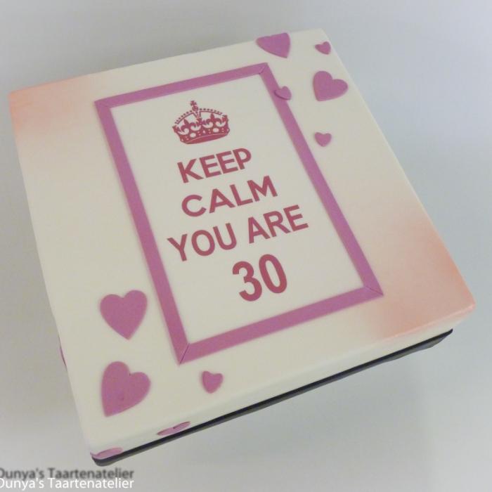 Keep CalmKeep Calm - roze