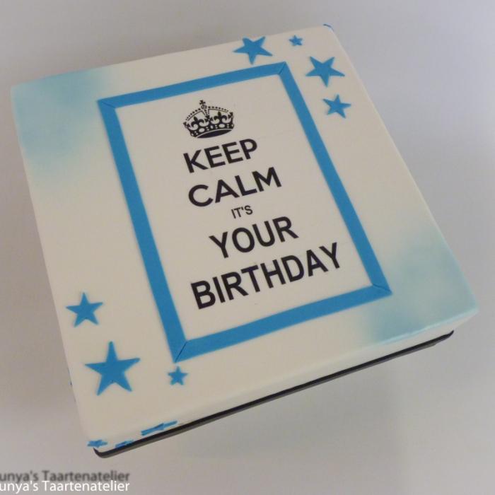 Keep CalmKeep Calm - blauw