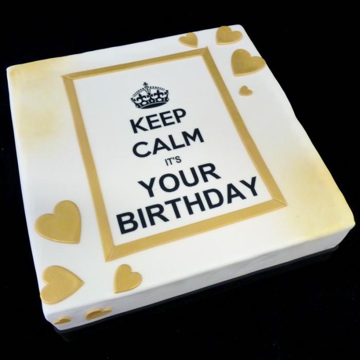 Keep CalmKeep Calm - goud