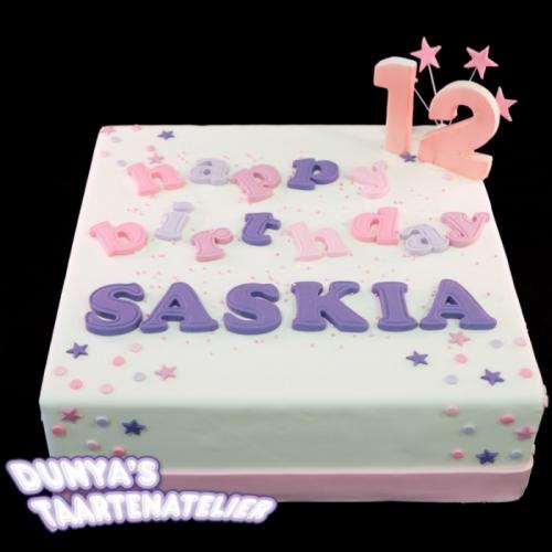 Happy Birthday .... - roze tinten