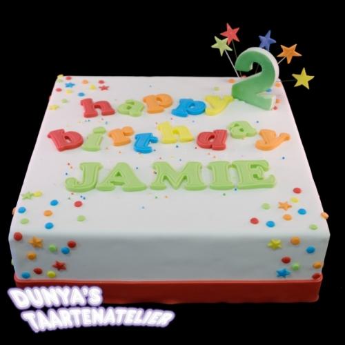 Happy Birthday .... - multi tinten