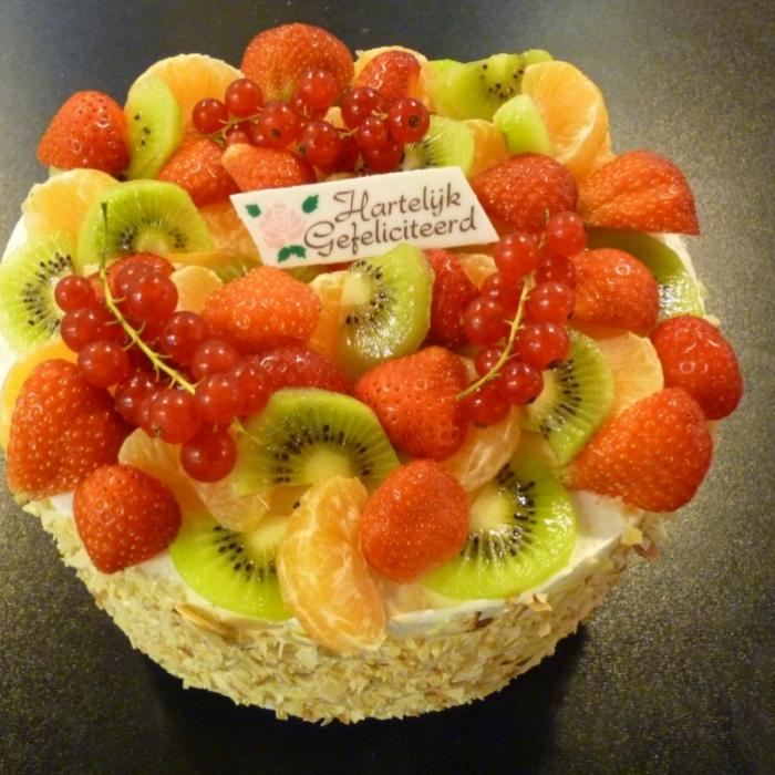 VruchtentaartTaart vol vers fruit