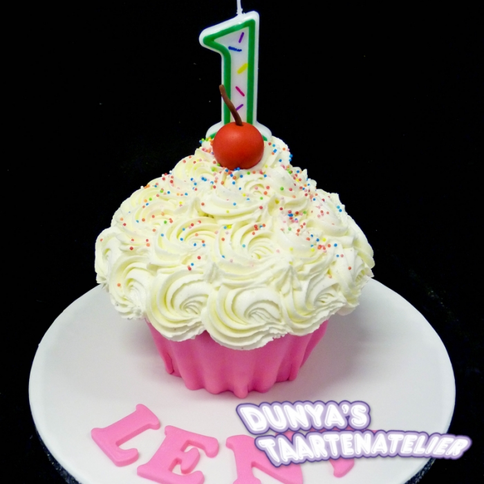 XL - cupcake smashpartySmash Cupcake - Roze