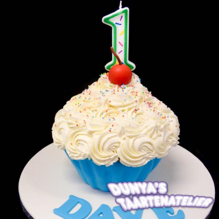 XL - cupcake smashpartySmash Cupcake - Blauw