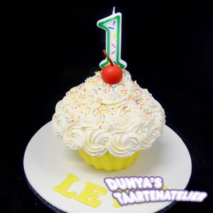 XL - cupcake smashpartySmash Cupcake - Geel