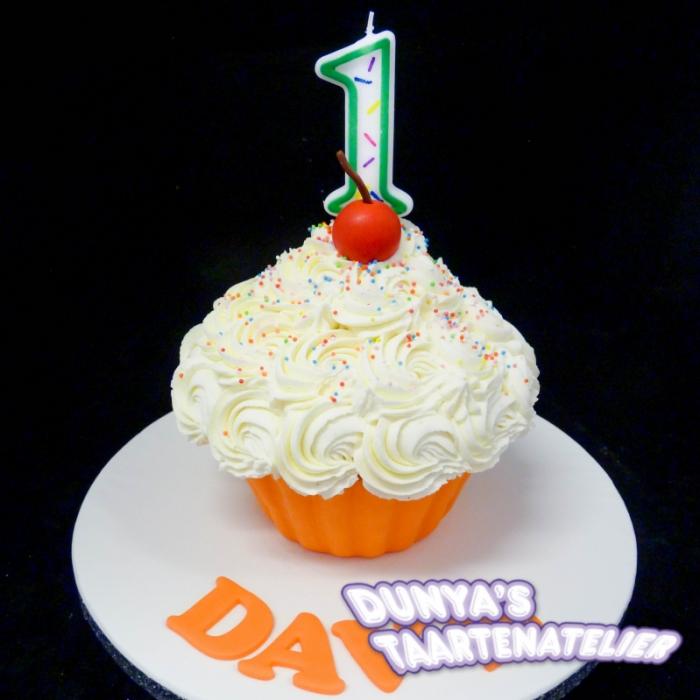 XL - cupcake smashpartySmash Cupcake - Oranje