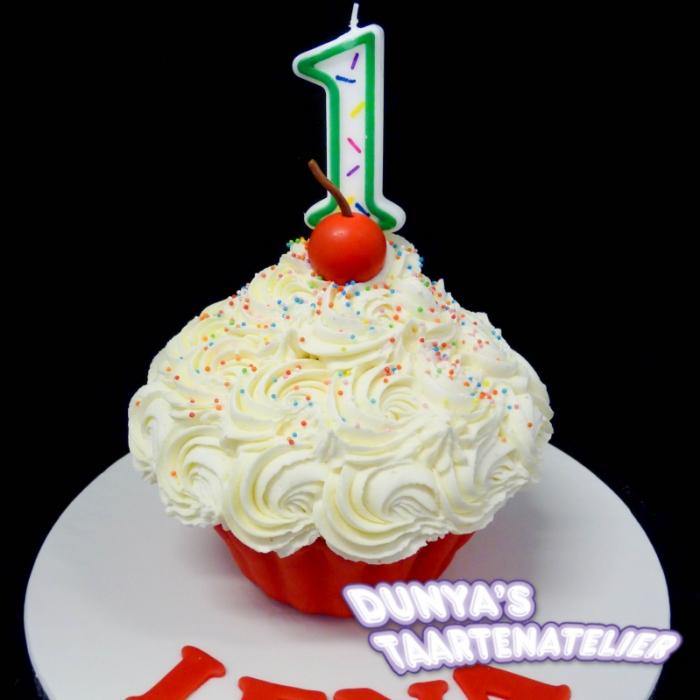 XL - cupcake smashpartySmash Cupcake - Rood