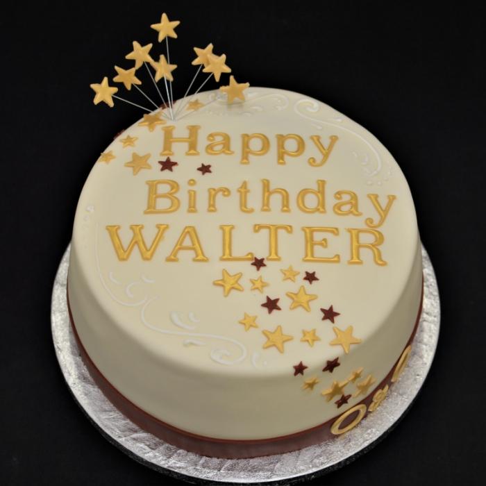 Taarten  met cijfers en/of tekstTaart met tekst (Walter)