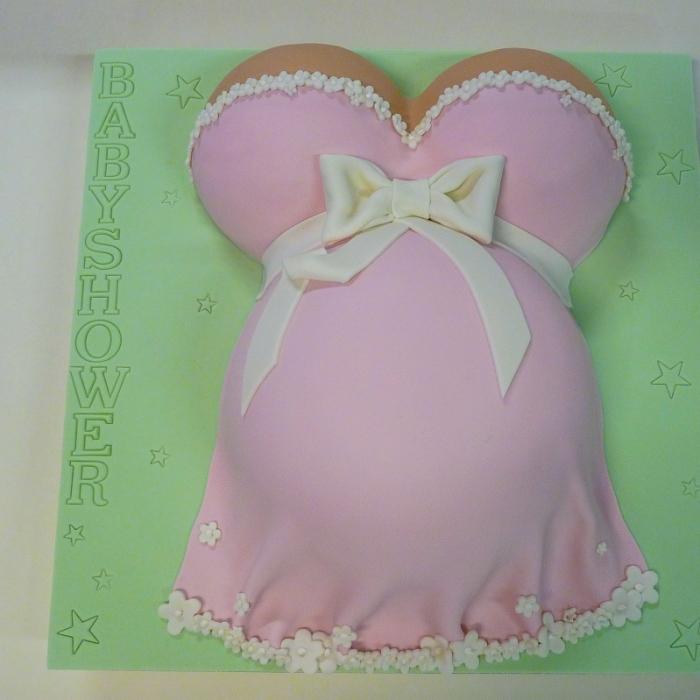 Baby SpecialsZwangere buik - roze