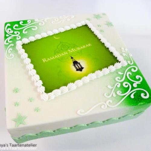 Eid Mubarak - groen