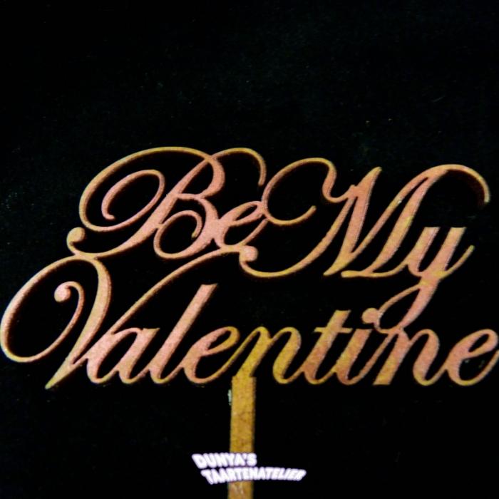 Taart ToppersBe My Valentine
