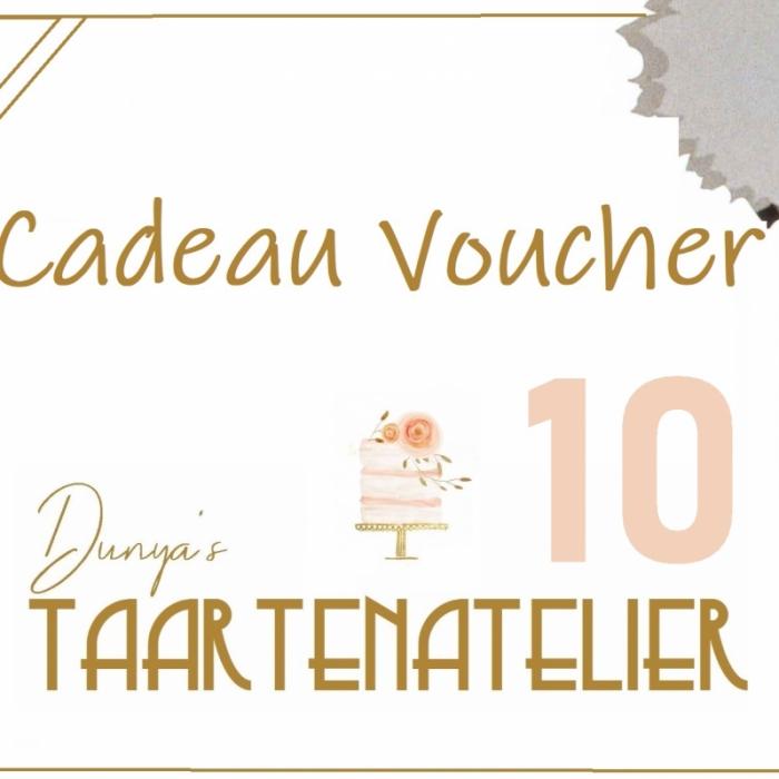 Cadeau voucherscadeau voucher - 10 euro