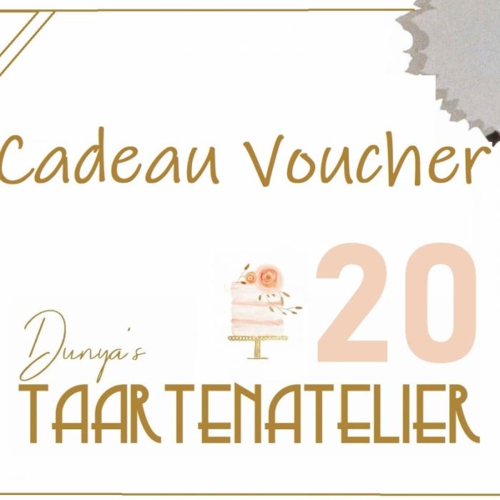 Cadeau voucherscadeau voucher - 20 euro