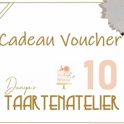 cadeau voucher - 10 euro