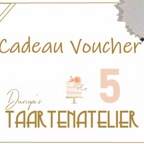 Cadeau voucher - 5 euro