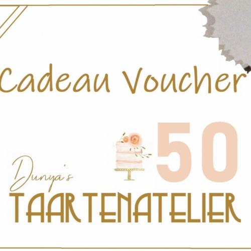 cadeau voucher - 50 euro