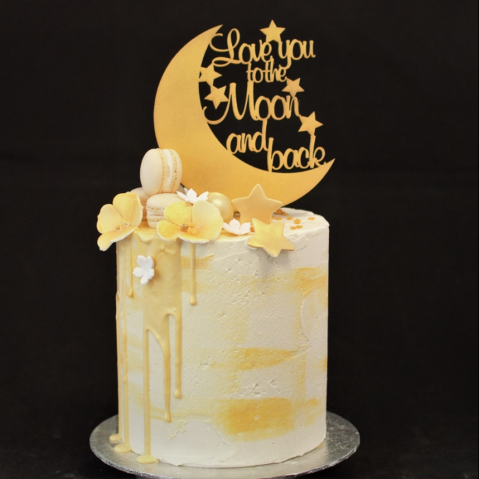Drip Cakes DeluxeTo the Moon and back