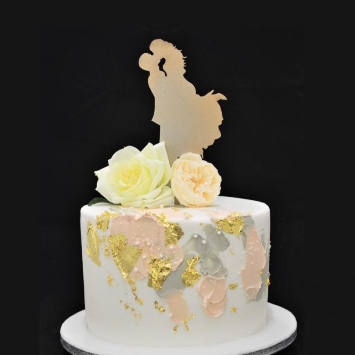 Dunya Abstract Gold Wedding XLAbstract Gold Wedding XL
