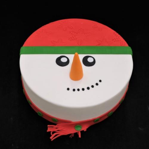 Sneeuwpop hoofd