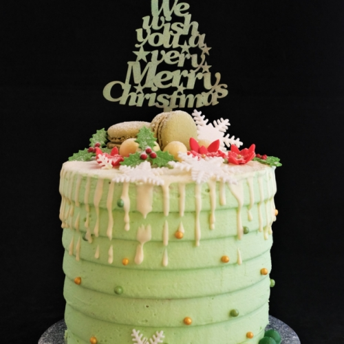 Kerst XL Cakes - We wish you