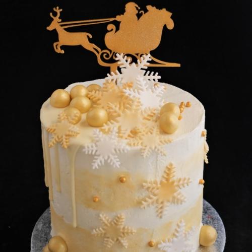 Kerst XL Cakes - Santa