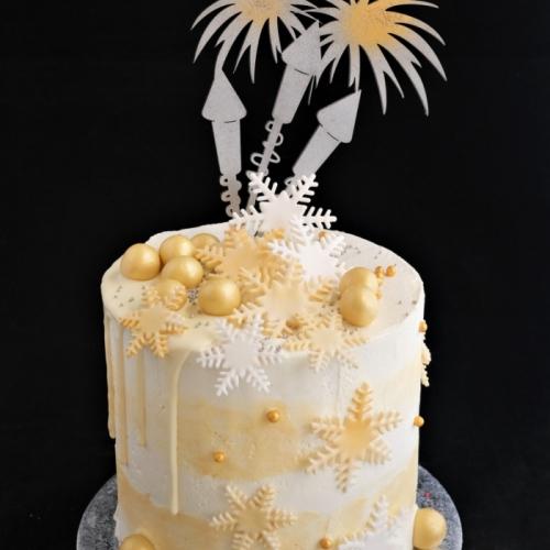 Kerst XL Cakes - Vuurwerk
