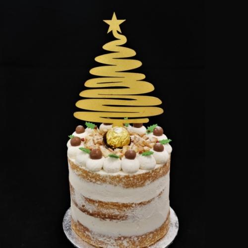 Naked Kerst Cake - Amarettio