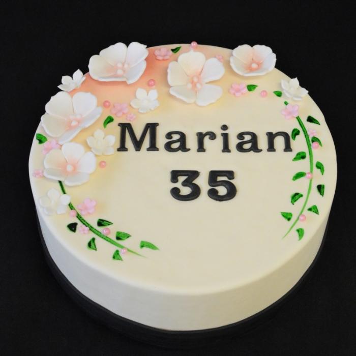 Blossom met tekstBlossom - Pink - Marian