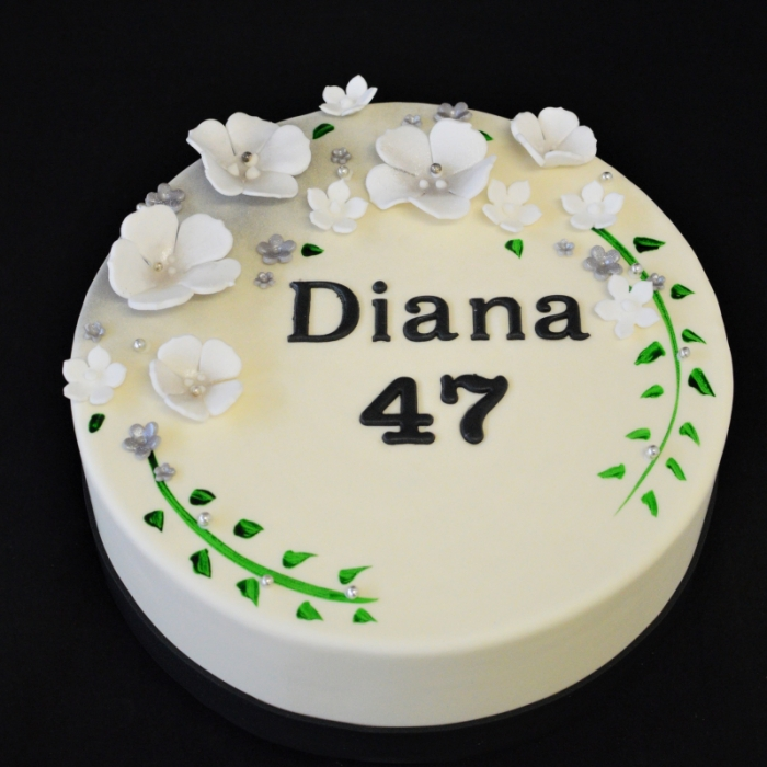 Blossom met tekstBlossom - Silver - Diana
